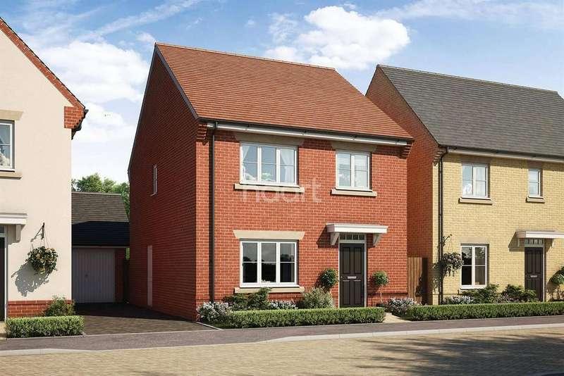 4 Bedrooms Detached House for sale in Montgomery Gardens, Aldershot