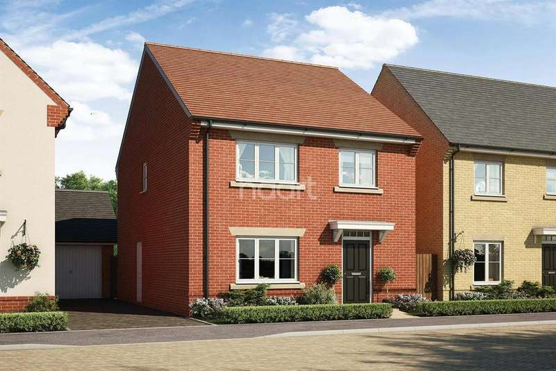 4 Bedrooms Detached House for sale in The Lupin, Montgomery Gardens