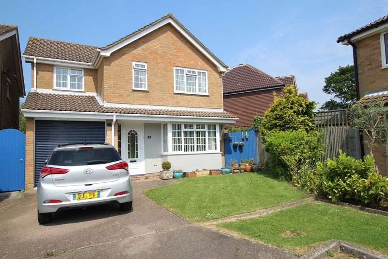 4 Bedrooms Detached House for sale in Helvellyn Drive, Eastbourne, BN23 8HT