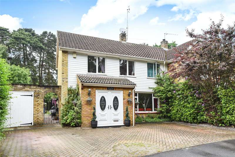 4 Bedrooms Semi Detached House for sale in Beswick Gardens, Bracknell, Berkshire, RG12
