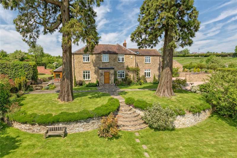 5 Bedrooms Detached House for sale in Patton Grange Farmhouse, Bourton, Much Wenlock, Shropshire, TF13
