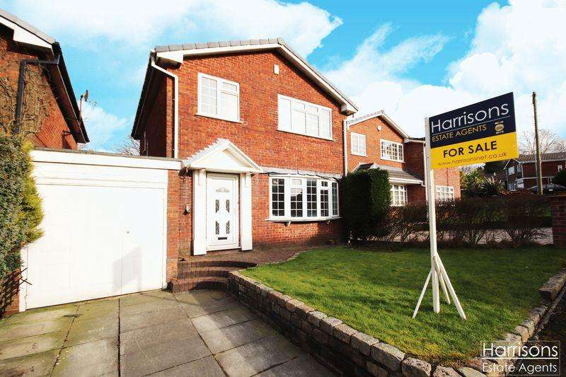 3 Bedrooms Detached House for sale in Moorlands View, Middle Hulton, Bolton, Lancashire.