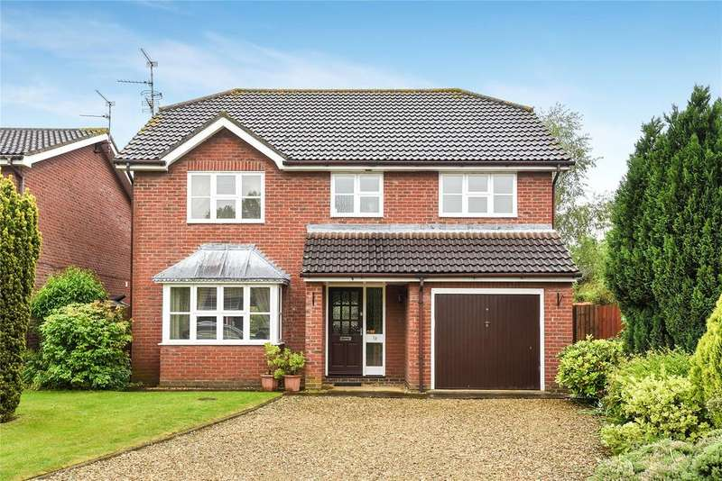 4 Bedrooms Detached House for sale in Mariette Way, Spalding, PE11