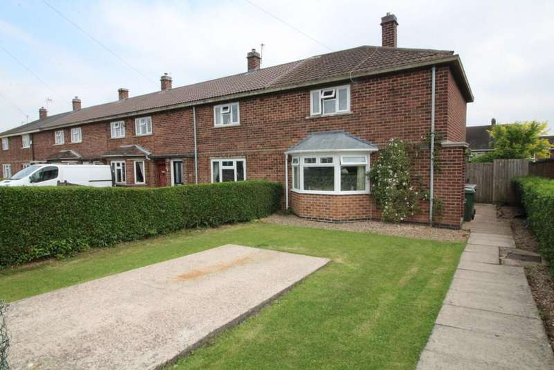 3 Bedrooms End Of Terrace House for sale in Thorpe Road, Shepshed