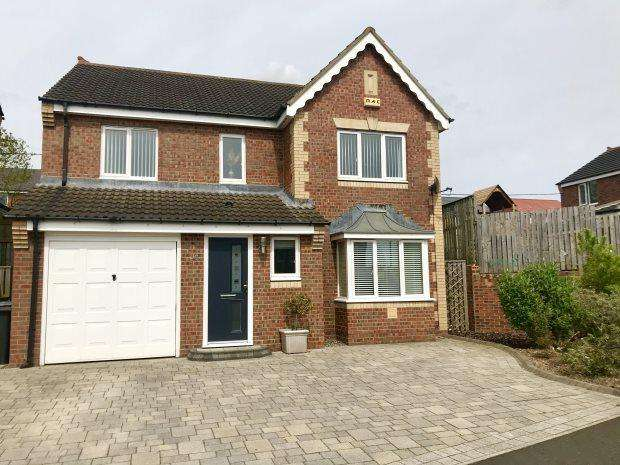 4 Bedrooms Detached House for sale in WELBY DRIVE, USHAW MOOR, DURHAM CITY : VILLAGES WEST OF