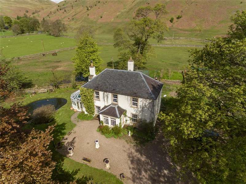 4 Bedrooms Detached House for sale in Ettrick Hall, Ettrick, Selkirk, Scottish Borders