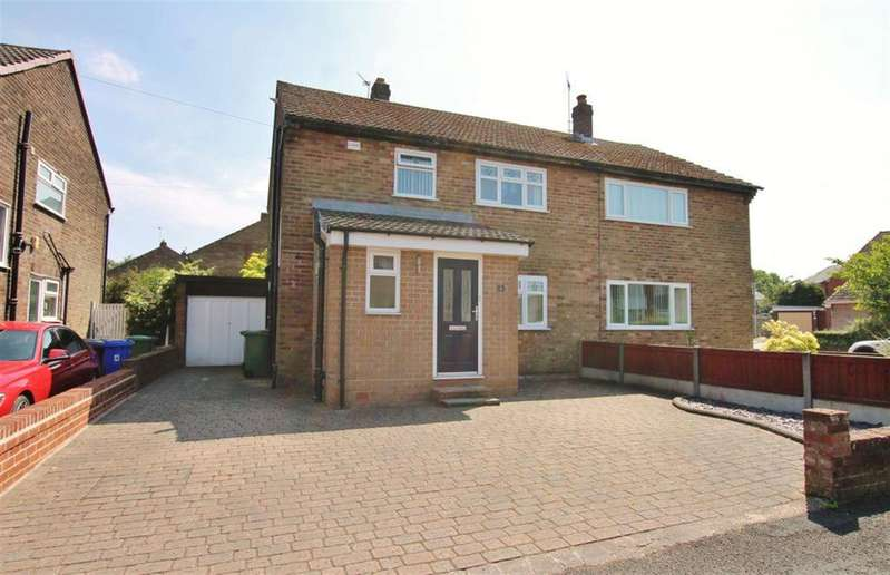 3 Bedrooms Semi Detached House for sale in Wentworth Close, Widnes, Cheshire, WA8 9JF