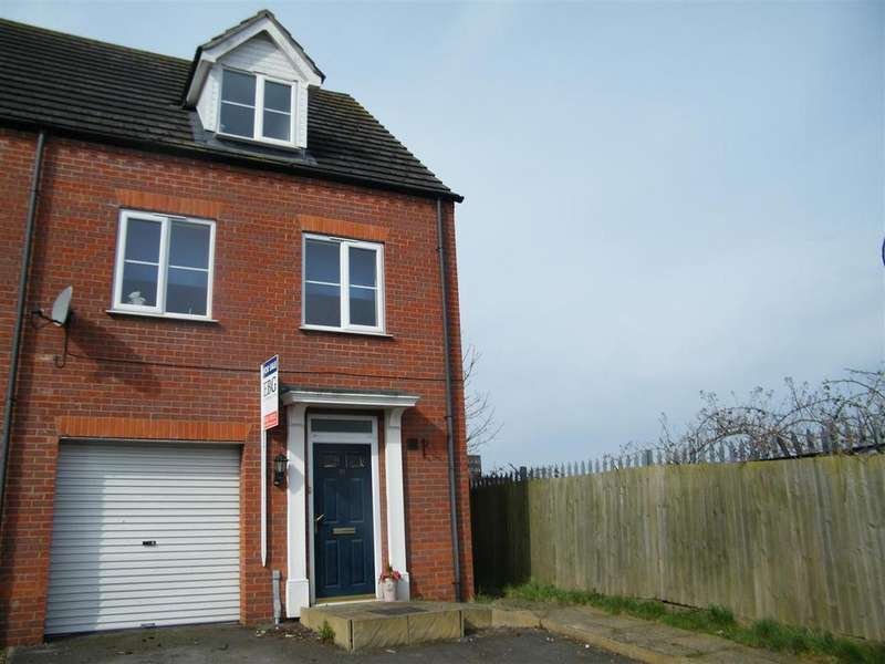 3 Bedrooms Terraced House for sale in Tilling Close, Grantham