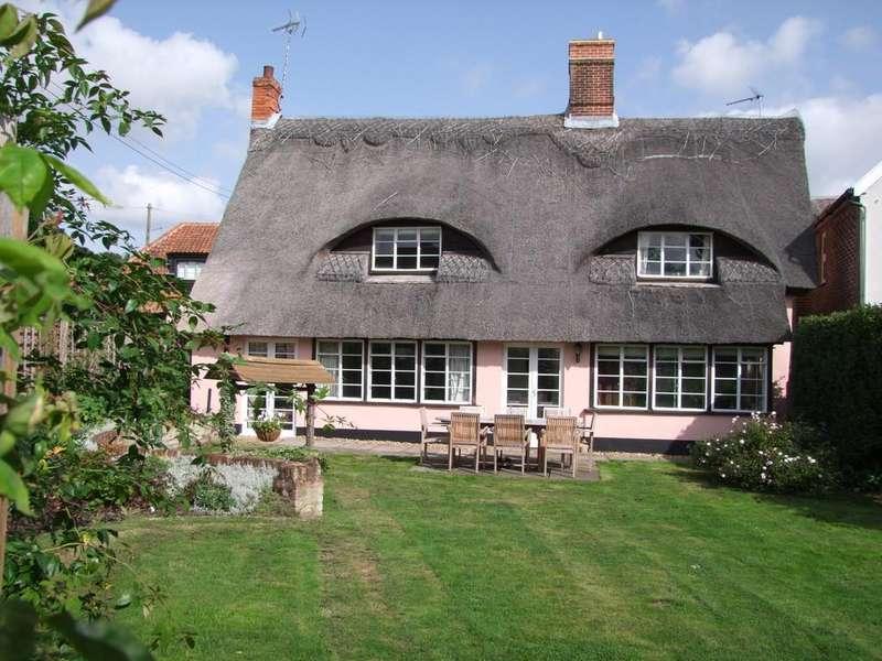 4 Bedrooms Detached House for sale in Thurtells Corner, Yoxford, Saxmundham