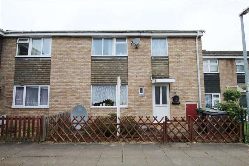 3 Bedrooms Terraced House for sale in Sandon Close, Sandy, SG19