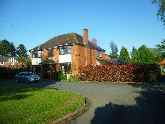 5 Bedrooms Detached House for sale in Field House, Shepherds Lane, Bicton, Shrewsbury SY3 8BT