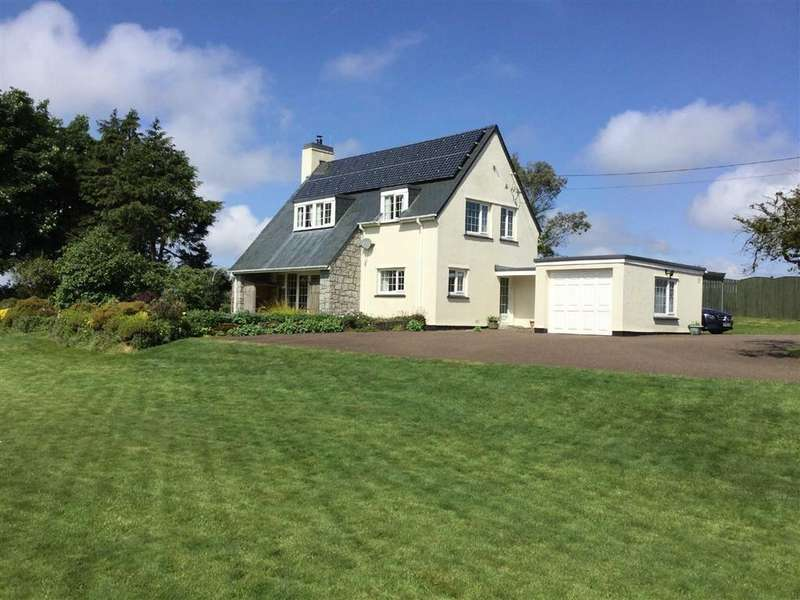 4 Bedrooms Detached House for sale in Tredethy, Bodmin, Cornwall, PL30