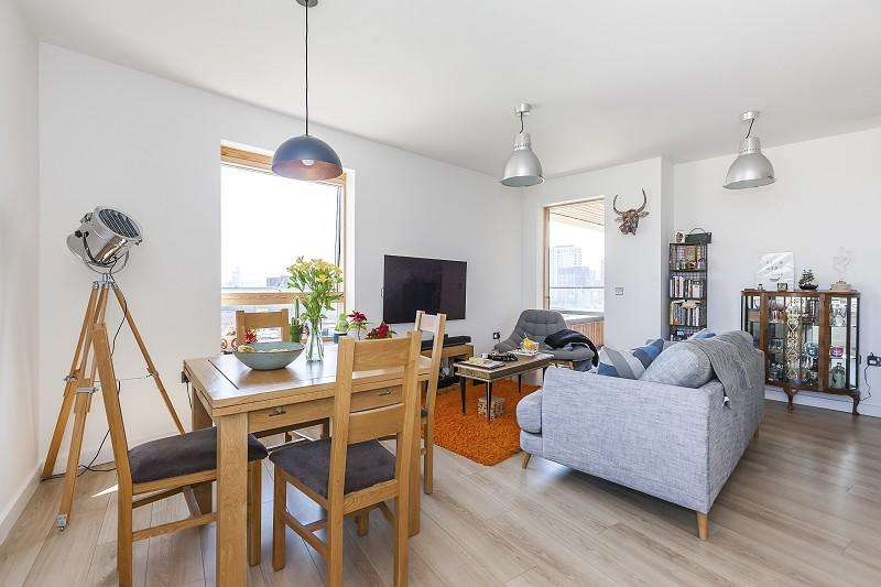 2 Bedrooms Flat for sale in Rathbone Street, Canning Town, London. E16