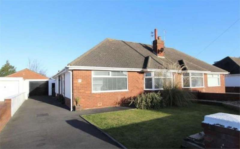 2 Bedrooms Semi Detached Bungalow for sale in Walmer Road, St. Annes, Lancashire