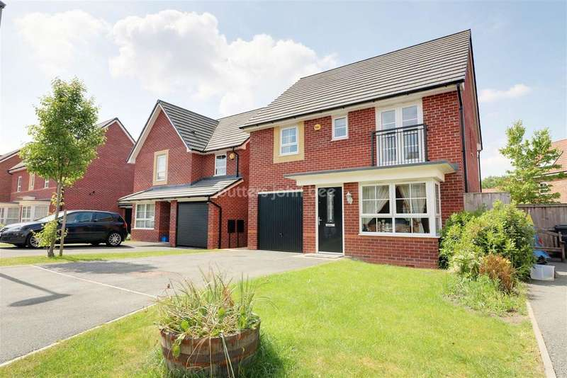 4 Bedrooms Detached House for sale in Sweet Water Court, Lostock