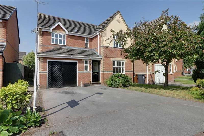 4 Bedrooms Detached House for sale in Byron Close, Ettiley Heath, Sandbach