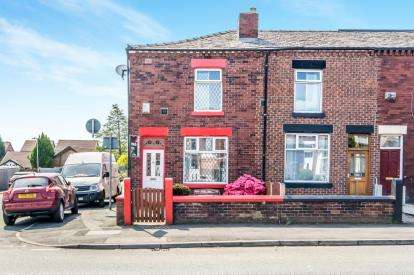 3 Bedrooms End Of Terrace House for sale in St. Helens Road, Middle Hulton, Bolton, Greater Manchester, BL3