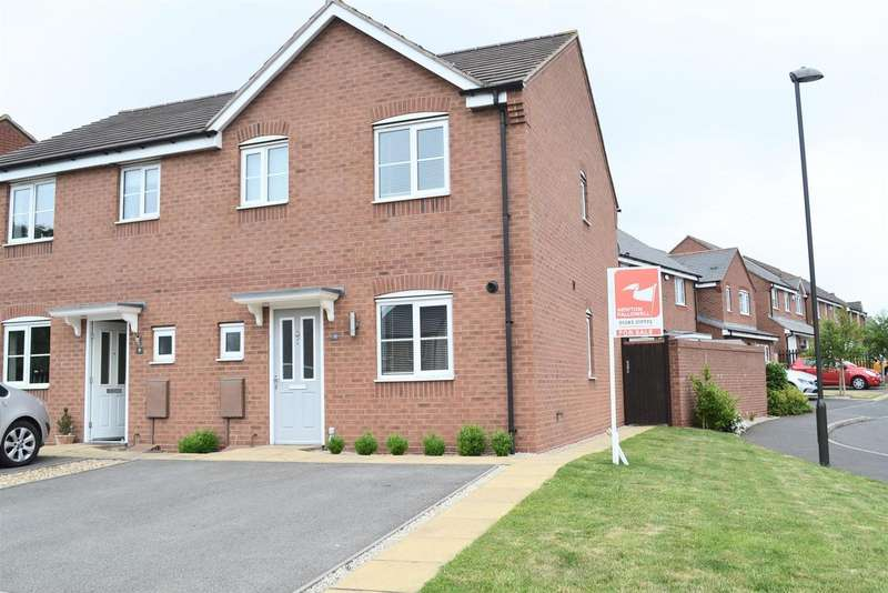 3 Bedrooms Detached House for sale in Grindley Way, Woodville, Swadlincote