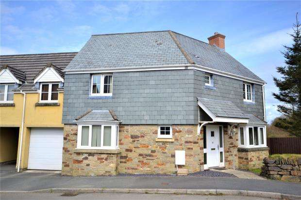 3 Bedrooms Link Detached House for sale in Lady Beam Court, Kelly Bray, Callington, Cornwall