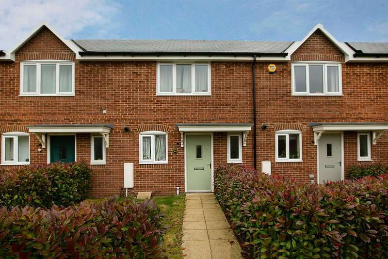 2 Bedrooms Terraced House for sale in Caribou Walk, Three Mile Cross, Reading, RG7 1WR