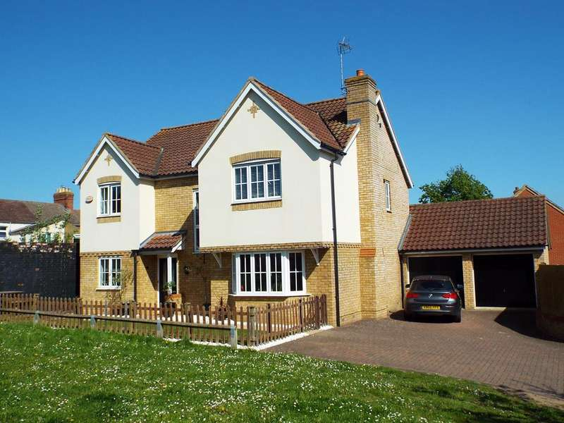 5 Bedrooms Detached House for sale in Briarwood Way , Wollaston , Northamptonshire, NN297QR