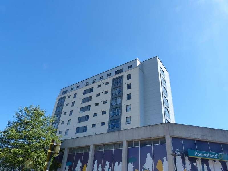2 Bedrooms Apartment Flat for sale in Hereward Tower, Peterborough PE1