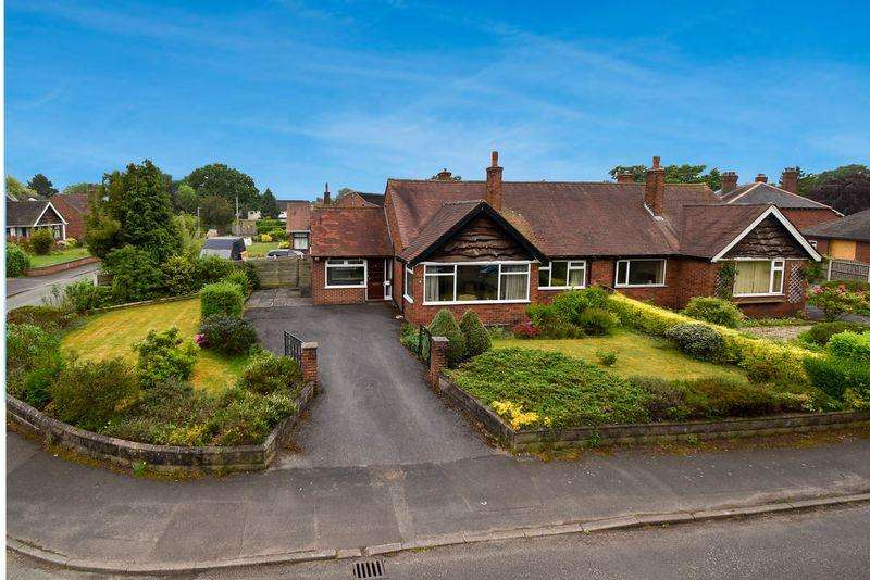 2 Bedrooms Semi Detached Bungalow for sale in Southlands Road, Congleton
