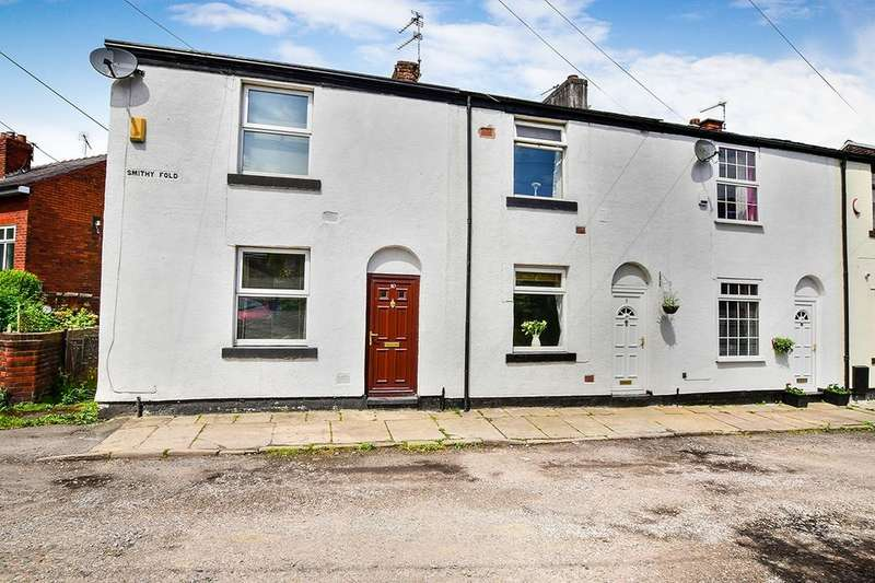 3 Bedrooms Terraced House for sale in Smithy Fold Road, Hyde, SK14