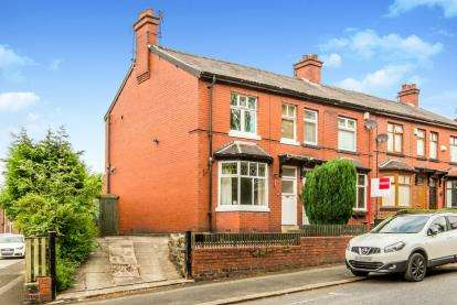 3 Bedrooms End Of Terrace House for sale in Montague Road, Ashton-under-Lyne, Greater Manchester
