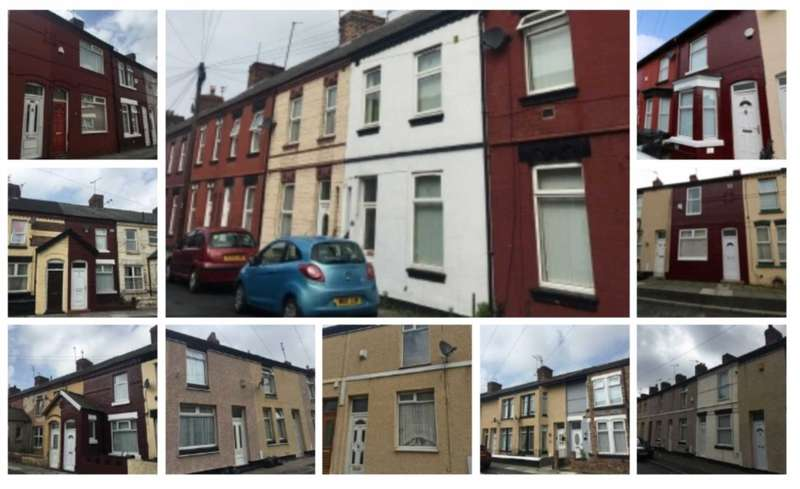 22 Bedrooms Terraced House for sale in Portfolio of 10 terraced houses in L20/L21 area