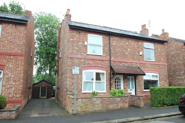 2 Bedrooms Semi Detached House for sale in Brien Avenue, Altrincham
