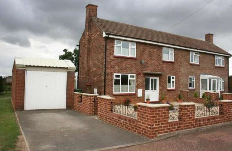 2 Bedrooms Semi Detached House for sale in Minden Place, Hemswell Cliff, Lincolnshire, DN21
