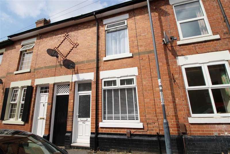 2 Bedrooms Terraced House for sale in Leyland Street, Derby