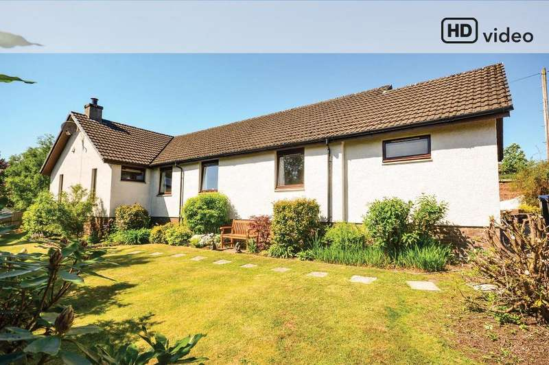 4 Bedrooms Detached Bungalow for sale in Kennedy Drive, Helensburgh, Argyll Bute, G84 9AR