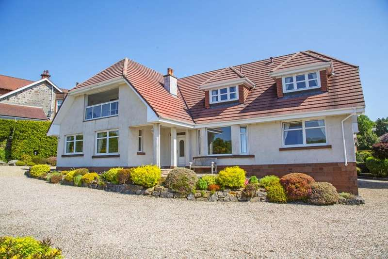 6 Bedrooms Detached House for sale in Kilbrannan Gryffe Road, Kilmacolm, PA13 4BB