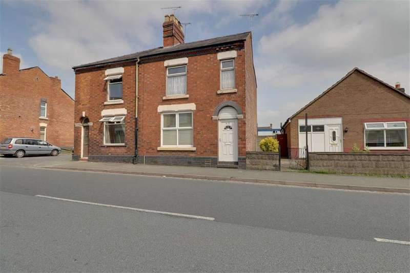 3 Bedrooms Semi Detached House for sale in Middlewich Street, Crewe