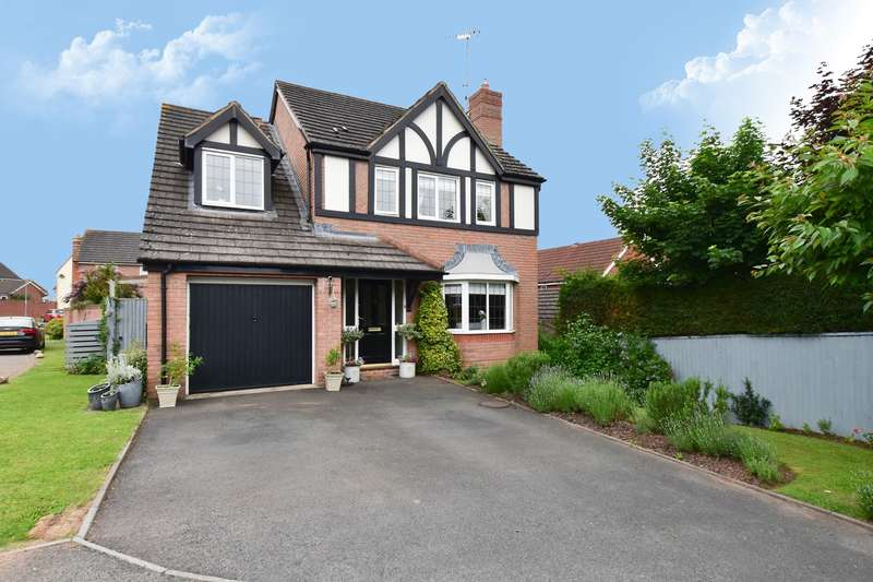 4 Bedrooms Detached House for sale in Tay Avenue, Worcester, WR5