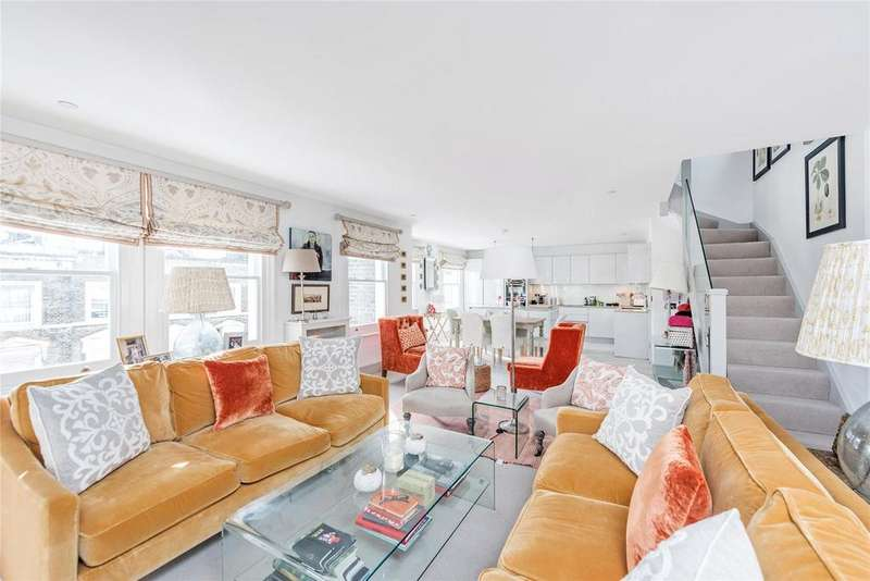 3 Bedrooms Apartment Flat for sale in Edith Terrace, London, SW10