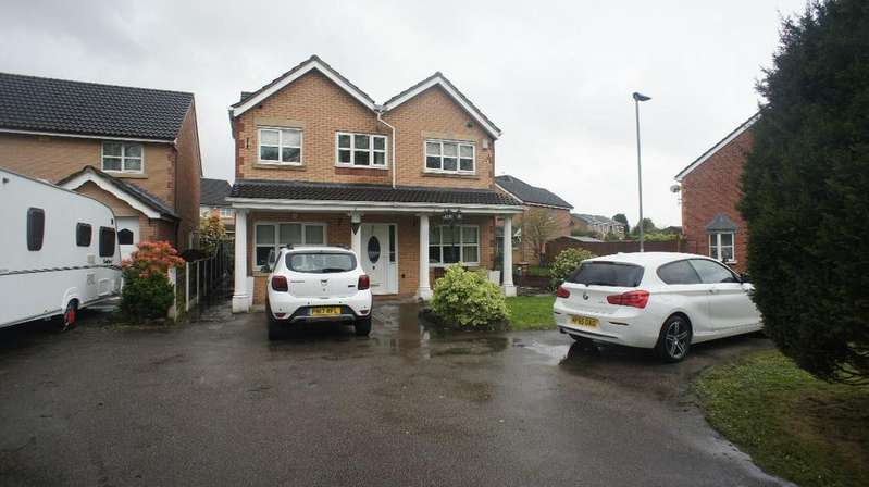 4 Bedrooms Detached House for sale in Dam Lane, Woolston, Warrington