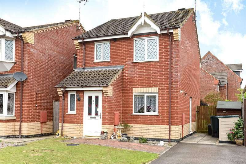 3 Bedrooms Detached House for sale in Tasman Close, Spalding, PE11
