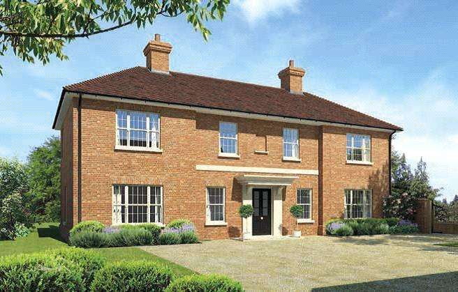 4 Bedrooms Detached House for sale in Kingston Road, Shalbourne, Marlborough, Wiltshire, SN8