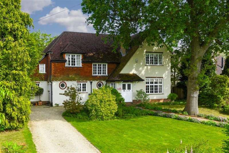 5 Bedrooms Detached House for sale in Manor Green Road, Epsom, Surrey