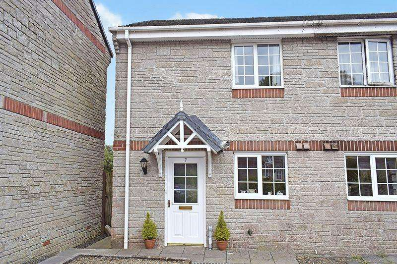2 Bedrooms Semi Detached House for sale in Liskeard, Cornwall