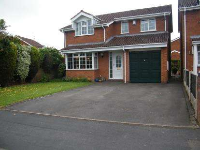 4 Bedrooms Detached House for sale in Coppice Farm Way, Coppice Farm Estate, Willenhall, West Midlands