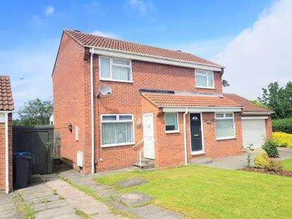 1 Bedroom Semi Detached House for sale in Fox Howe, Coulby Newham, Middlesbrough, .