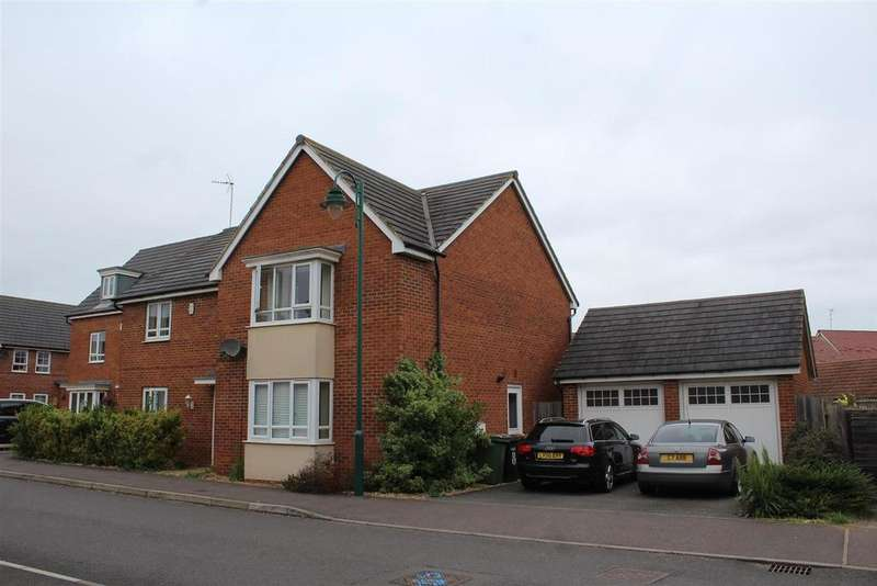 4 Bedrooms Detached House for sale in Howegate Drive, Hampton Vale, Peterborough