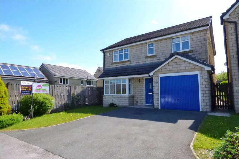 4 Bedrooms Detached House for sale in Woodlark Close, Bacup, Lancashire, OL13