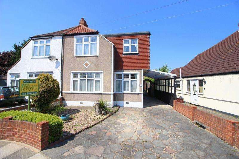 4 Bedrooms Semi Detached House for sale in Valliers Wood Road, Sidcup, DA15 8BG