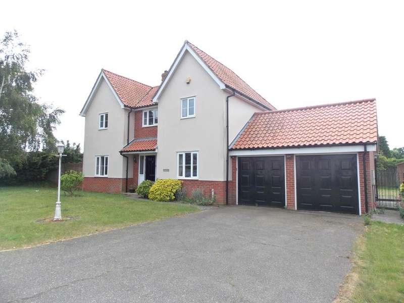 4 Bedrooms Detached House for sale in Meadow View, Bucklesham, Ipswich, Suffolk IP10