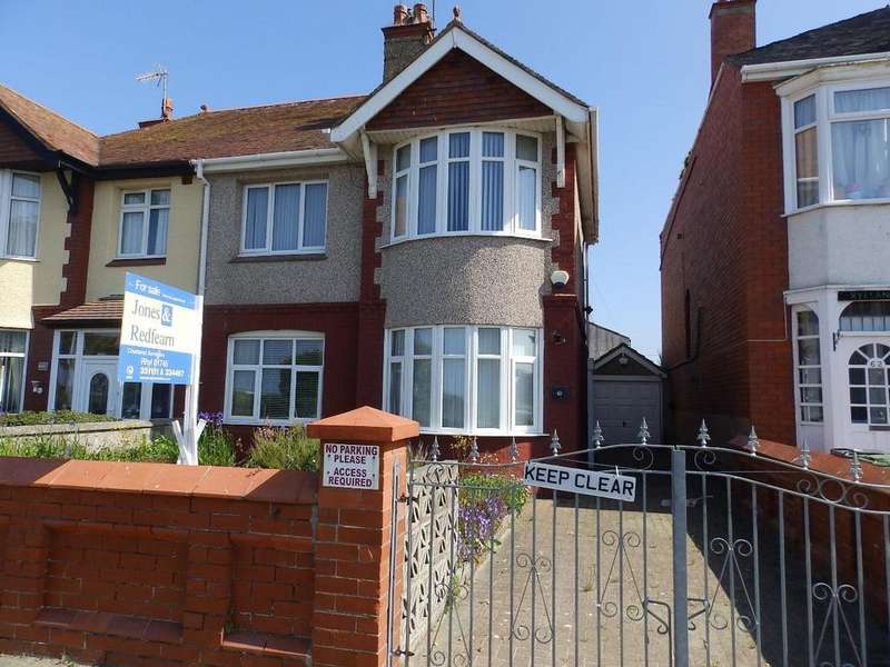 4 Bedrooms Semi Detached House for sale in East Parade, Rhyl